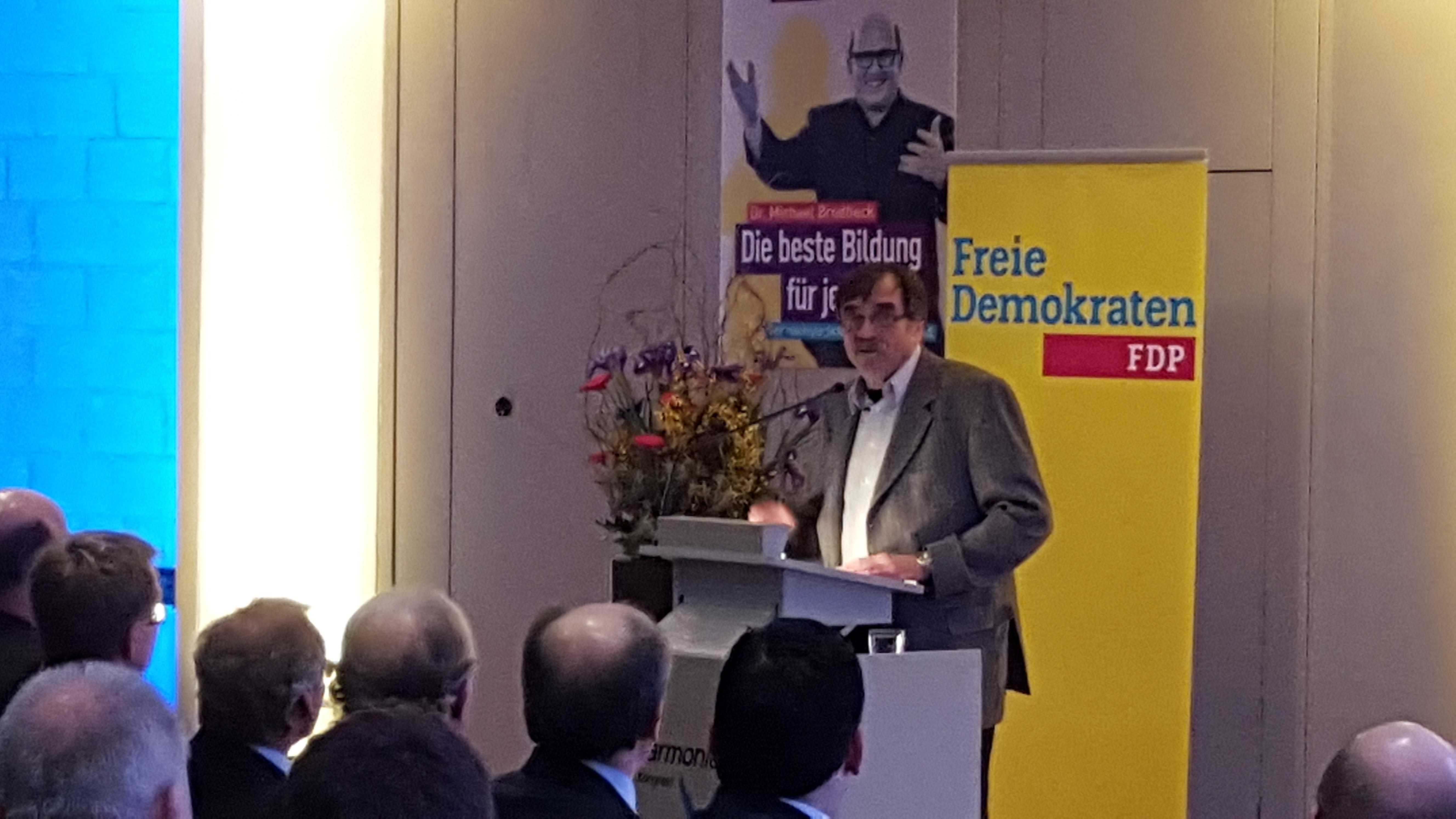 Ulrich Fehrlen, Kreisvorsitzender der Freien Demokraten Esslingen