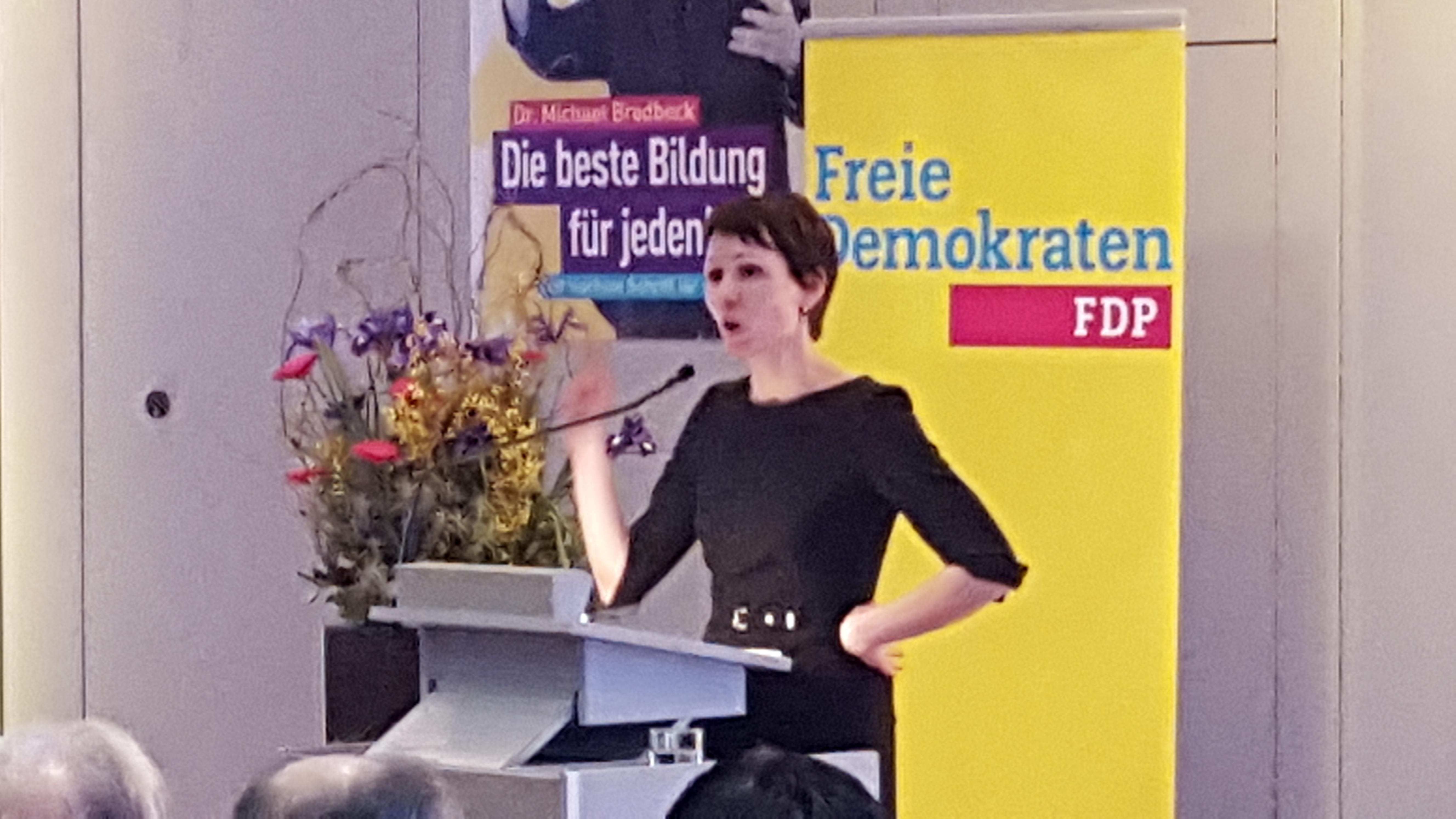 Judith Skudelny, Generalsekretärin der Freien Demokraten Baden-Württemberg